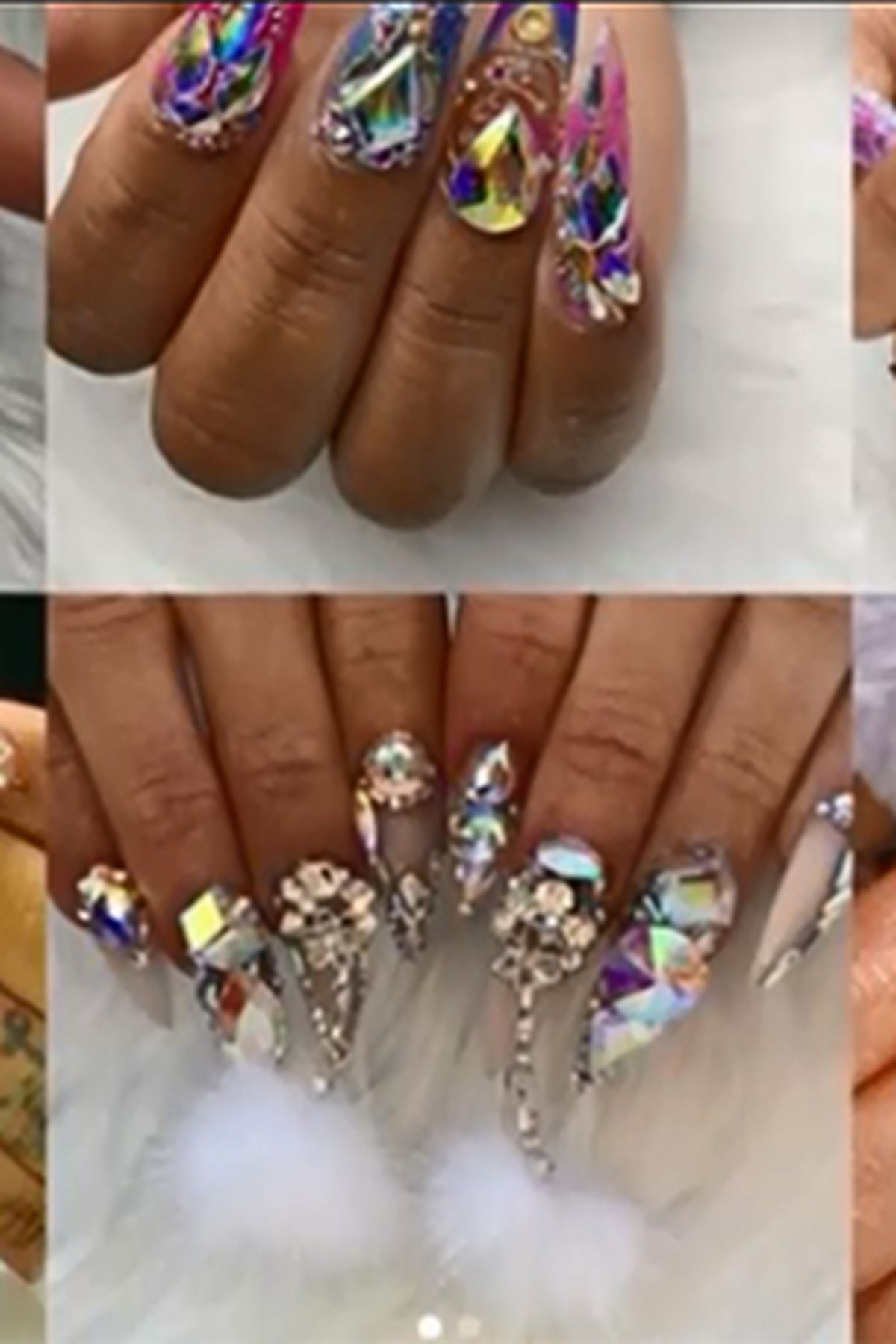Nail Bling Extravagant On Trend Impractical