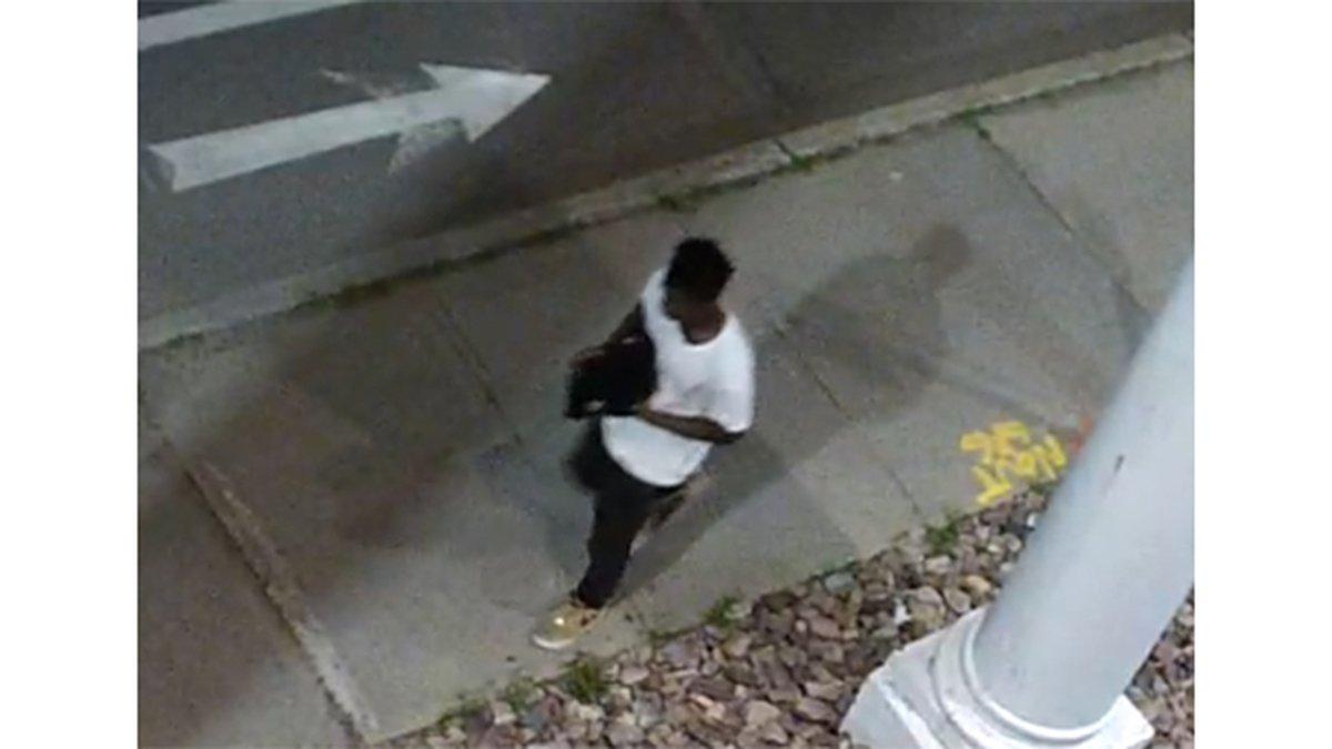 Burlington suspect from Andrews Avenue assault