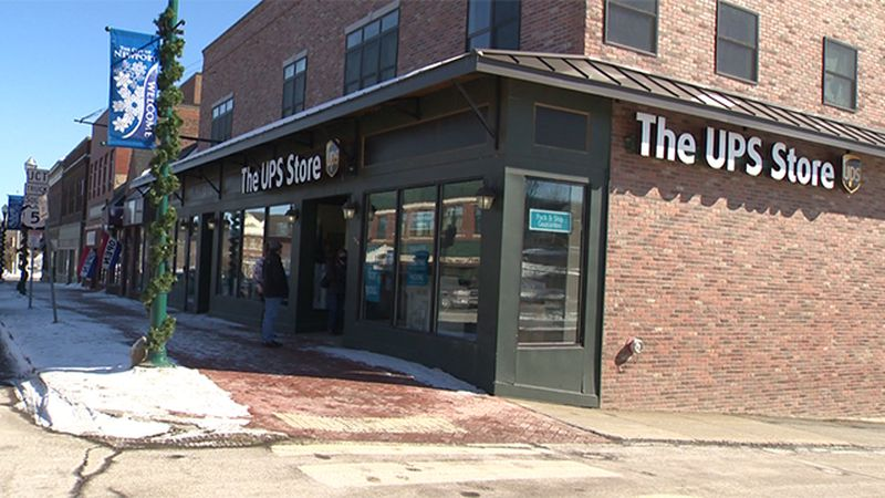 The former UPS Store in Newport now has a sign on the door asking for financial support for its...