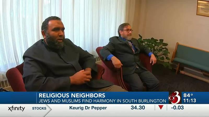 Imam Islam Hassan and Rabbi David Edelson