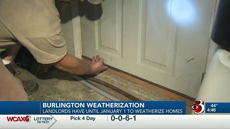 Renters in Burlington will soon benefit from a new law requiring landlords to weatherize their...