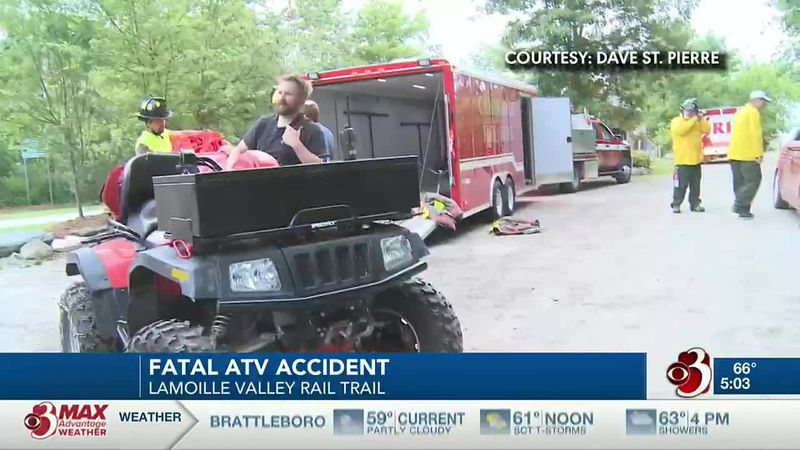 A Colchester man is dead this morning after an ATV crash in Cambridge.