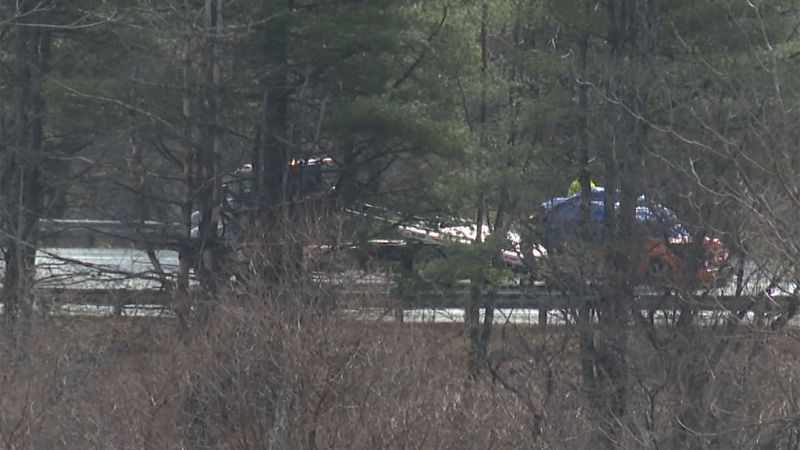Police say one person was killed in a crash on Interstate 91 in Hartland.
