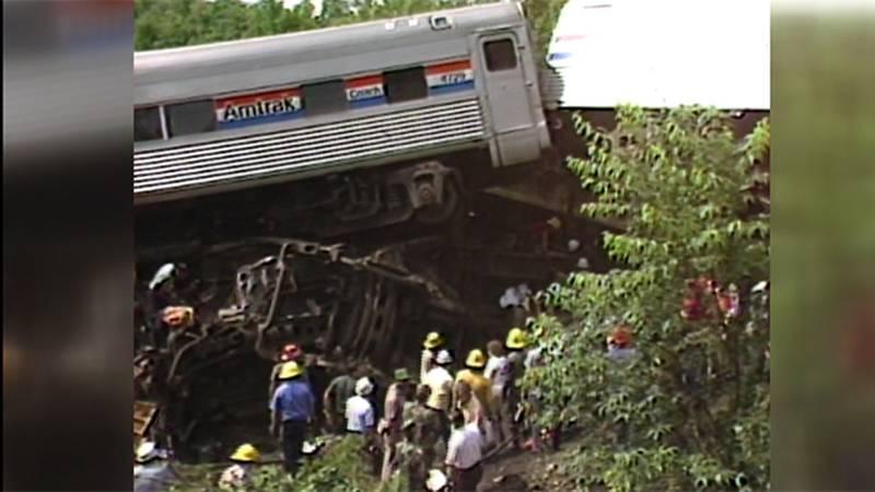Amtrak Montrealer derailment July 7, 1984, in Williston-Essex Jct.