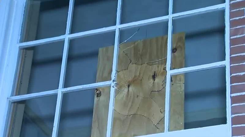 Vandalism in Burlington