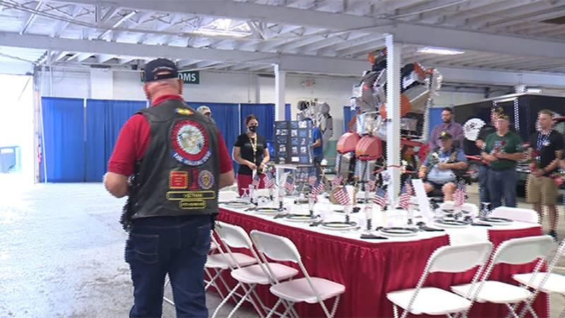 Champlain Valley Fair honors veterans Friday.