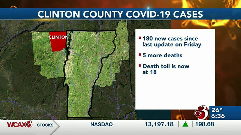 A warning of two possible COVID-19 exposures in New York North Country. Plus an update on...