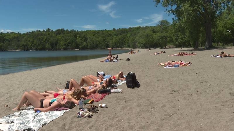 All of Burlington's beaches reopened for swimming on Tuesday.