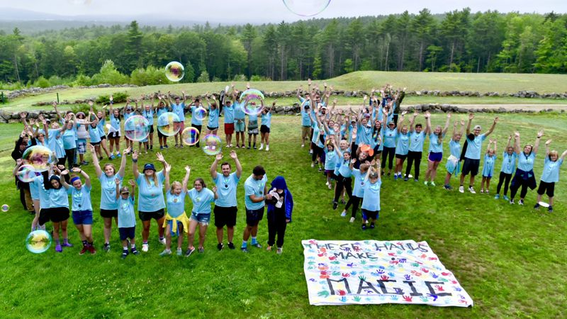 How Camp Kesem is getting creative to help kids during COVID.