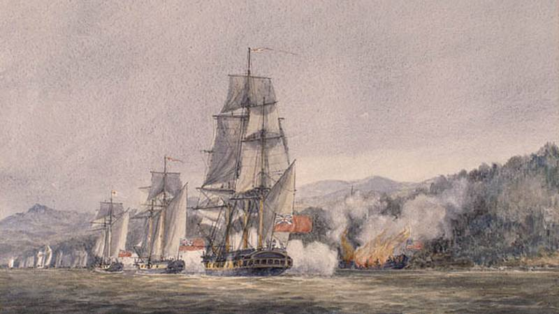 The Battle of Valcour Island