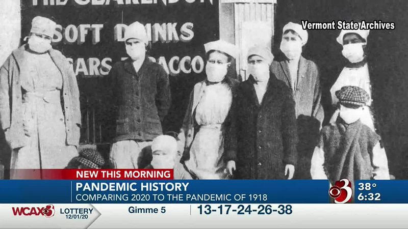 There are some similarities between the Spanish Flu Pandemic of 1918 and the COVID-19 pandemic...