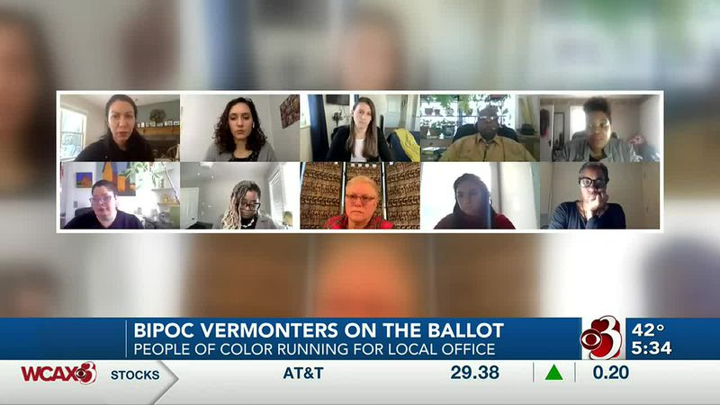 Vermonters of color seeking office across the state