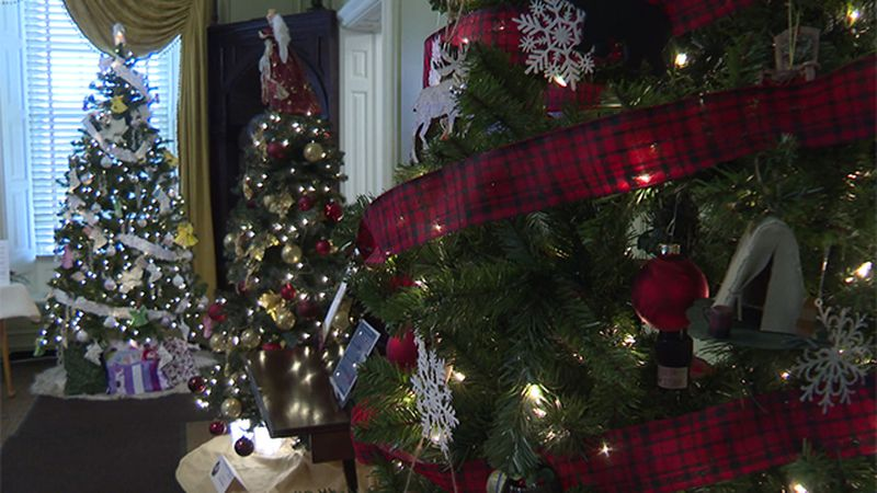31st annual Festival of Trees is underway  in Ticonderoga, New York.