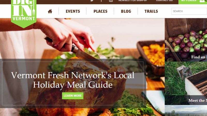 The Vermont Fresh Network is making it easy for people to find local food this holiday season.