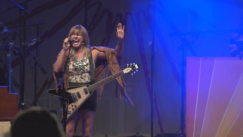 Grace Potter performs at the Shelburne Museum in September 2021