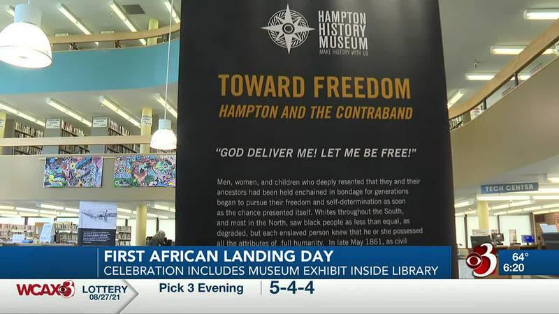 African Landing Day celebration features museum exhibit