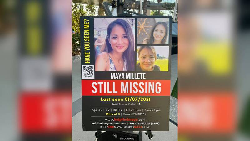 """May """"Maya"""" Millete, a 40-year-old mother of three from Califronia, has been missing since..."""