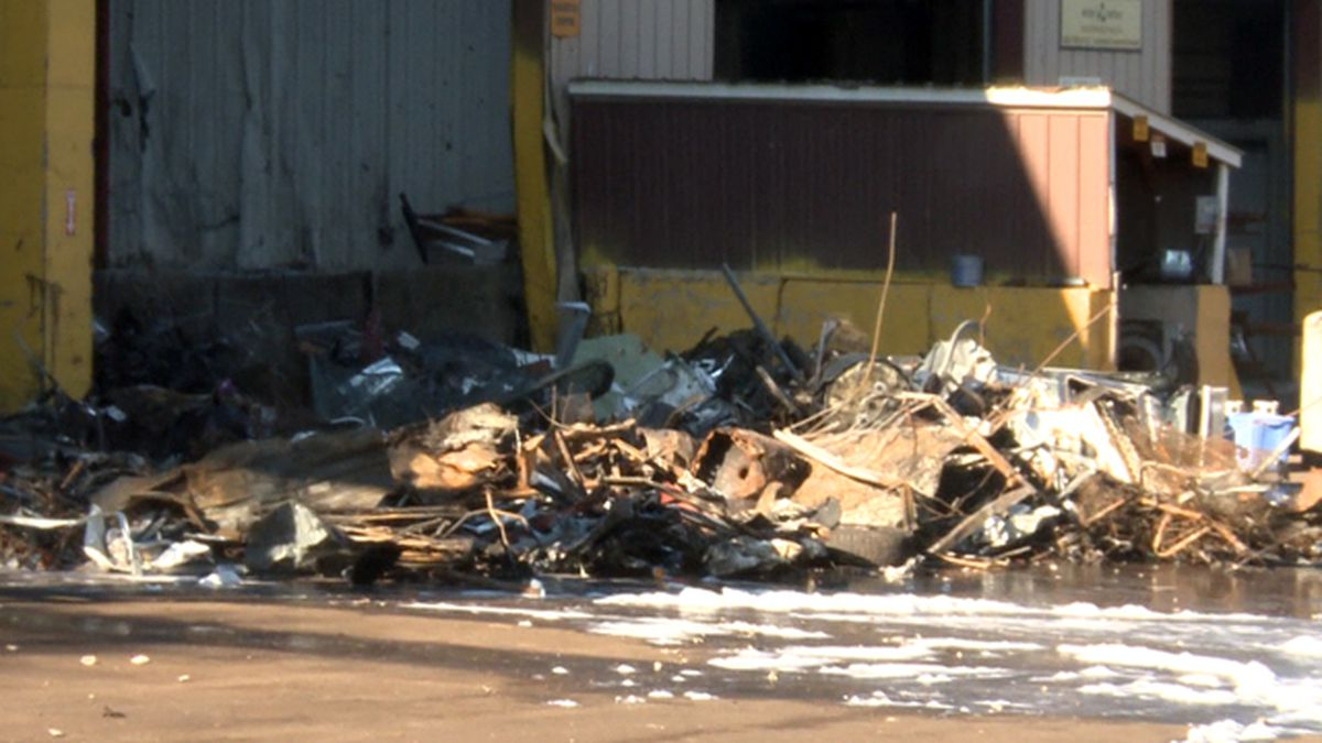 Multiple crews respond to fire at All Metals Recycling