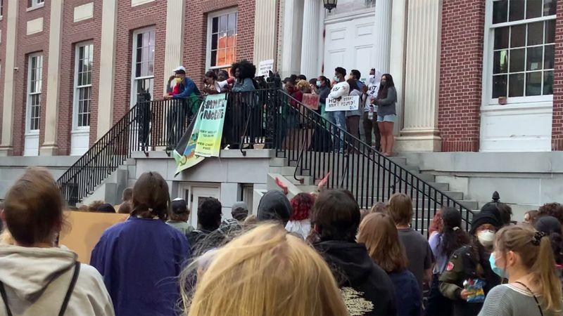 Black Lives Matter demonstrations in Burlington.