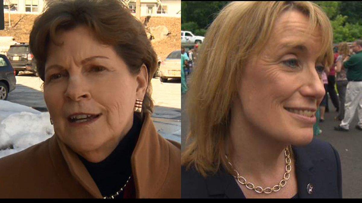 Sens. Jeanne Shaheen and Maggie Hassan