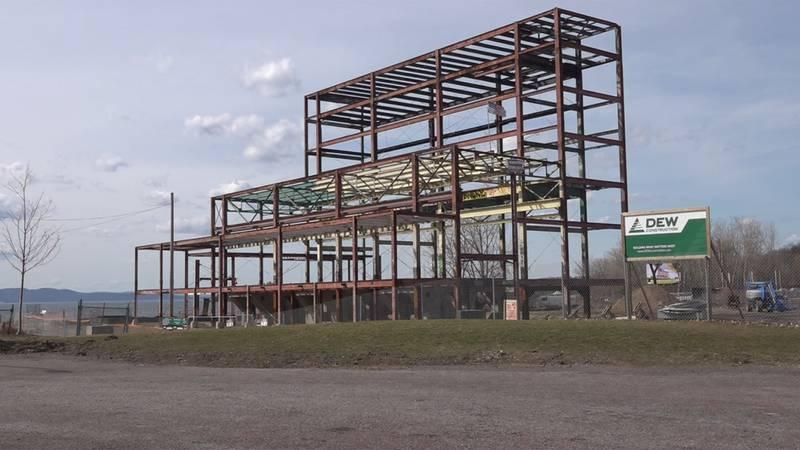 The old Moran Plant in Burlington has a new name: the Moran FRAME.