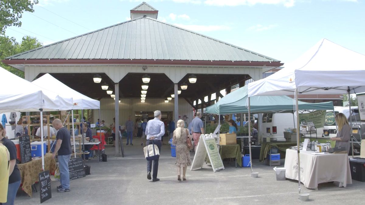 The Plattsburgh farmers market-File photo