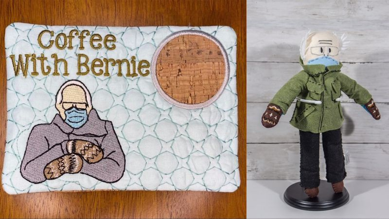 Vermont crafters are getting in on Sen. Bernie Sanders' much-memed mittens.