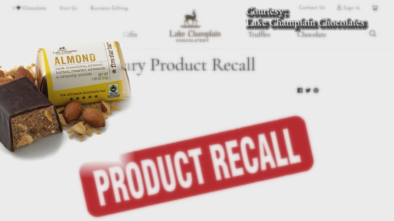 A consumer reported finding brittle plastic pieces in a finished product.