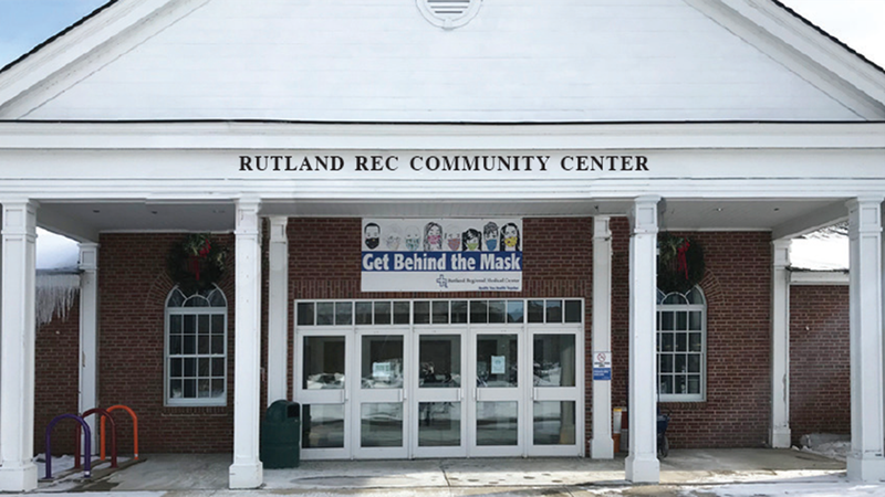 The planned Rutland Rec Center-Rendering