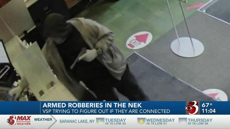 Robberies in NEK