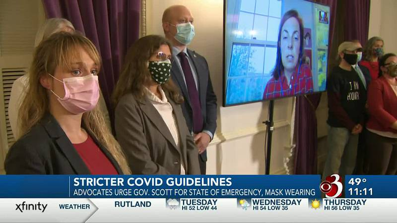 Advocates call for stricter COVID guidelines