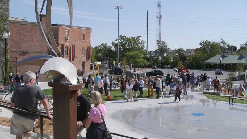 The Betty Little Arts Park is officially open in Plattsburgh.