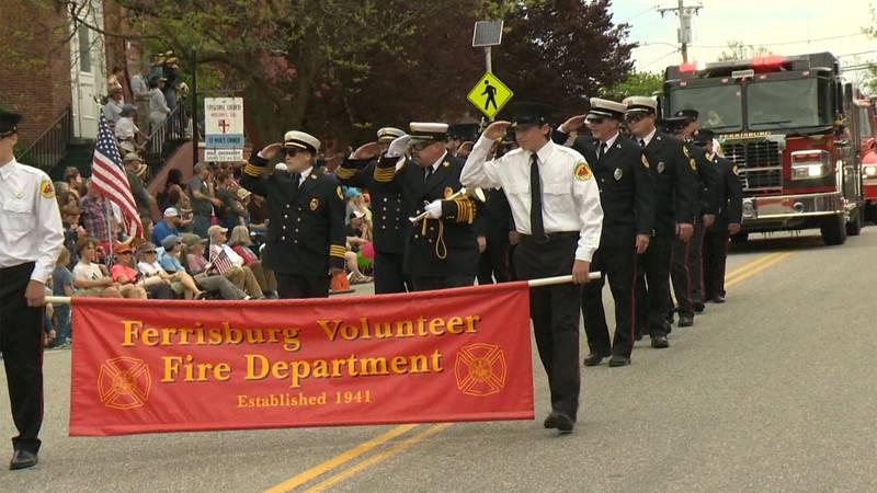 Vergennes Memorial Day parade-File photo