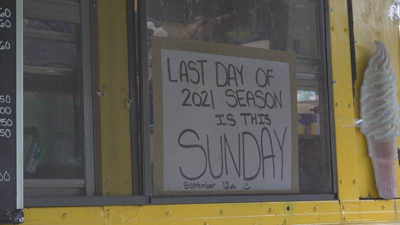 Beansie's Bus is closed for the season.