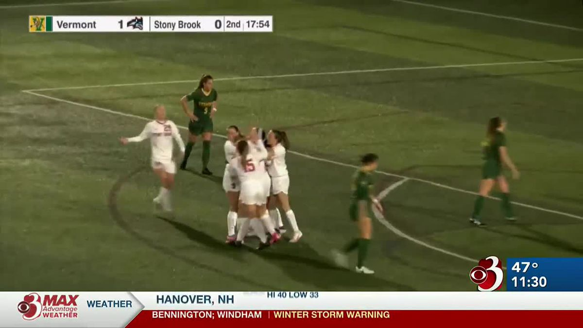 Stony Brook ends UVM Women's Soccer season