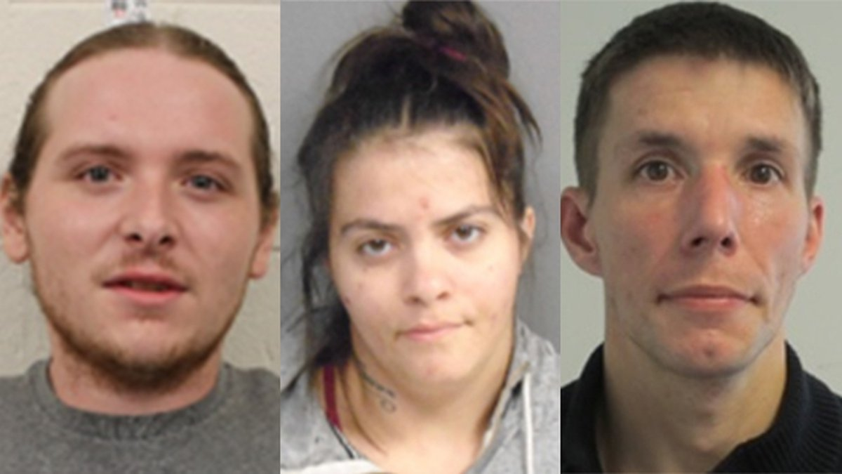Scroll down to see all the mug shots of the suspects that police provided.