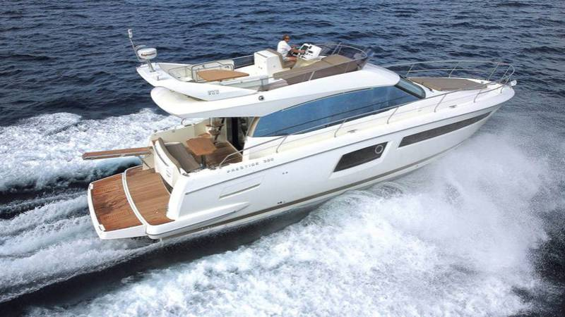 St. Albans Police say the 48-foot yacht was stolen from the Rouses Point, New York area.