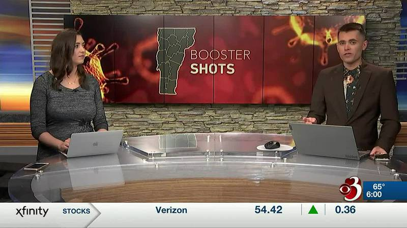 Starting Friday, Pfizer booster shots will be available to Vermonters 80 and older. It's only...