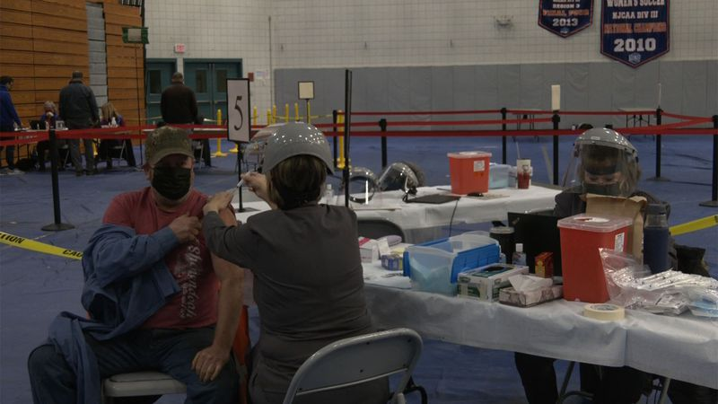 Thursday, the Clinton County Health Department opened a vaccination site at Clinton Community...