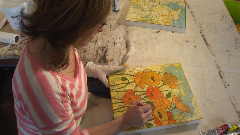 Johanne Durocher Yordan is giving away some of her artwork in exchange for good deeds.