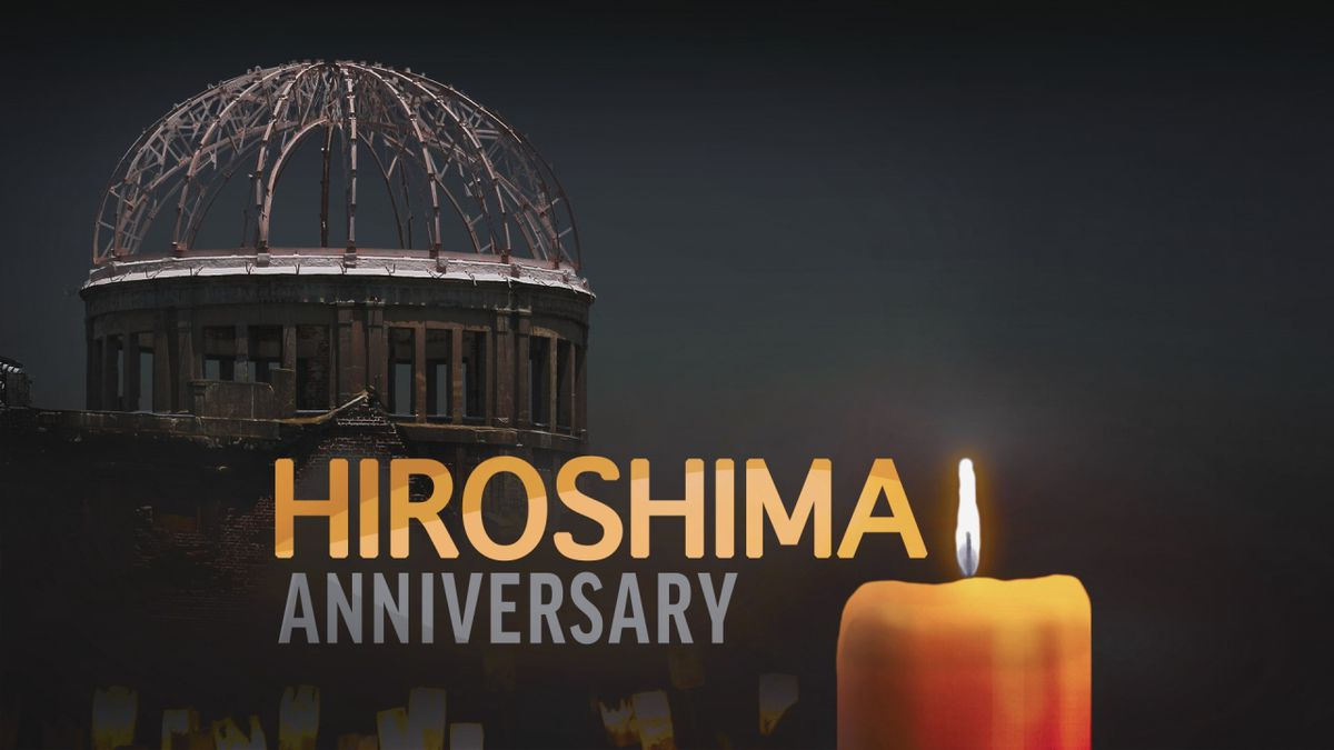 The U.S. detonated two nuclear weapons over Hiroshima and Nagasaki on August 6 and 9, 1945.