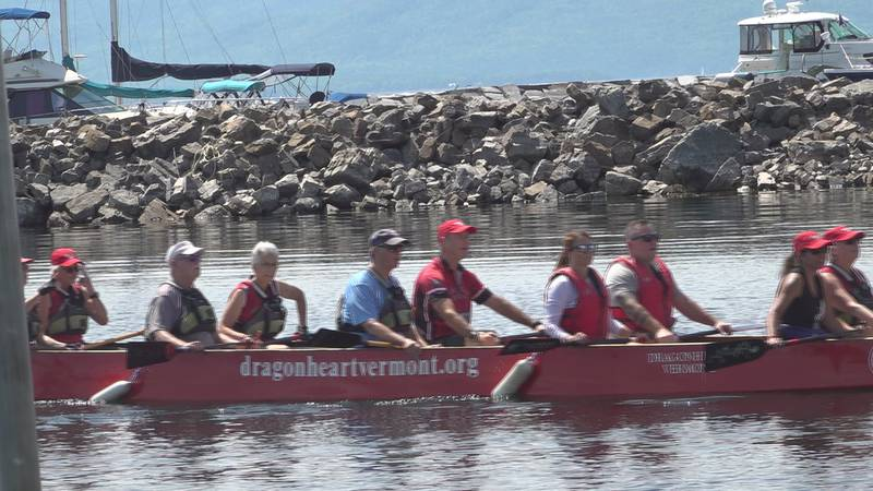The Lake Champlain Dragonboat Festival begins the first weekend of August.