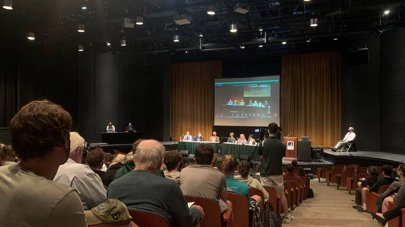 A Vermont State Colleges System plan to unite four schools under one name was met with...
