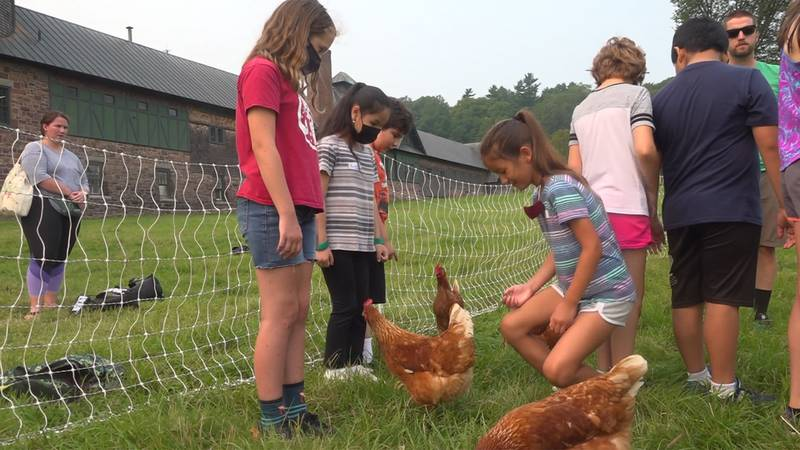 Shelburne Farms is teaming up with the Winooski School District to teach kids about their roots.