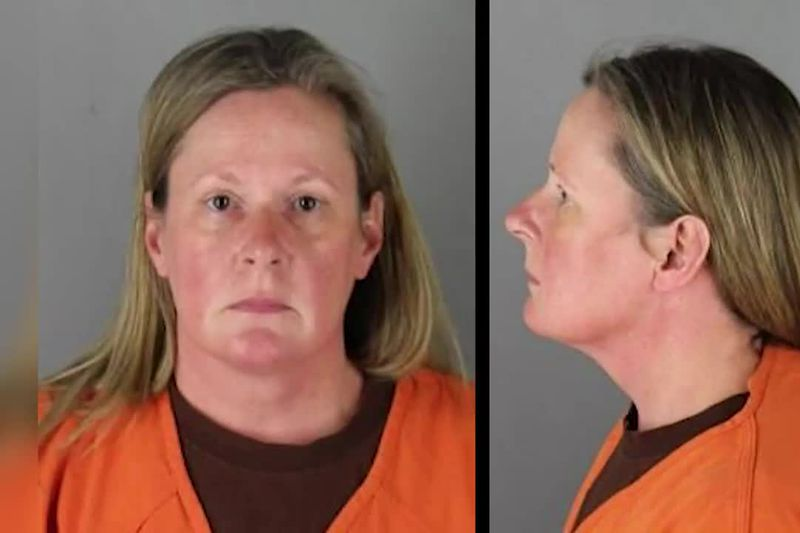 Former police officer Kim Potter has been arrested and charged in the killing of Daunte Wright.