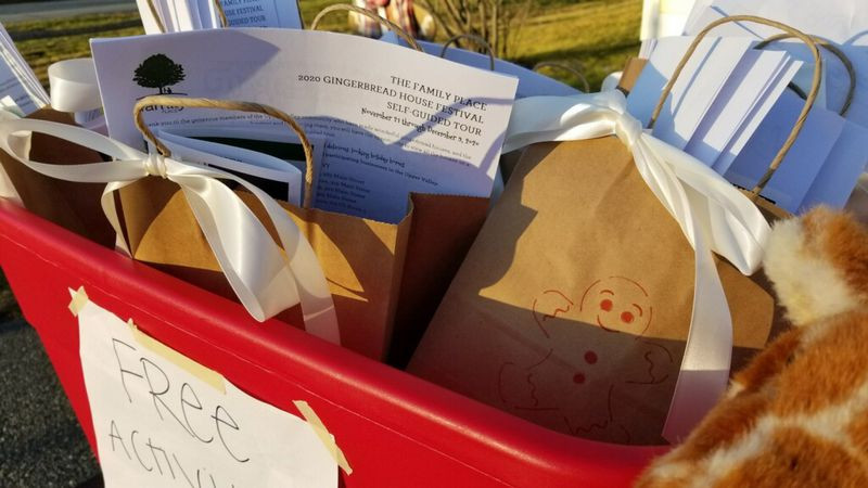 Holiday gift bags handed out in the Upper Valley.