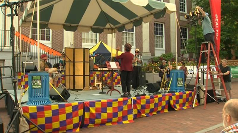 The Festival of Fools getting underway in  Burlington Friday.