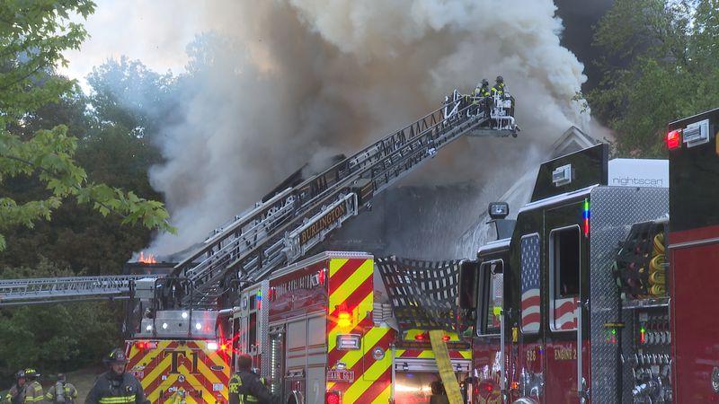 Fire destroys Shelburne home