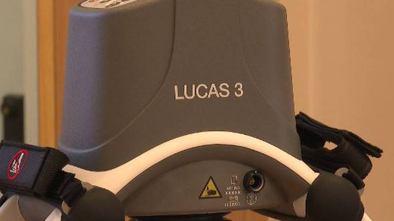 The LUCAS machine is a live-saving CPR device with a hefty price tag.