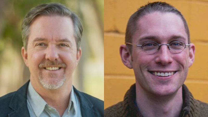 Brian Pine and Max Tracy, Progressive candidates for Burlington mayor